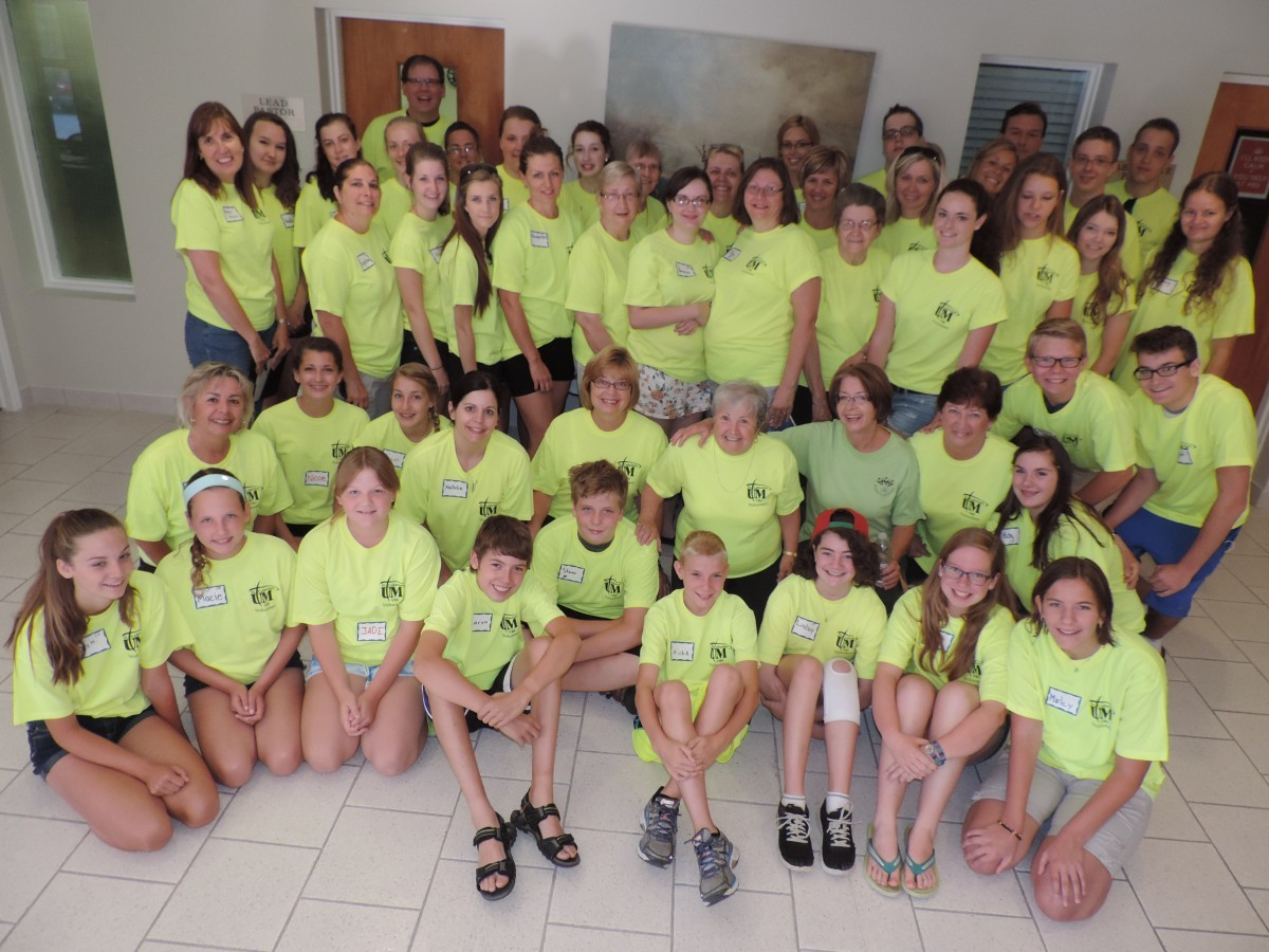 Group VBS Everest Volunteer St. Catharines Niagara Kids Vacation Church Sunday School